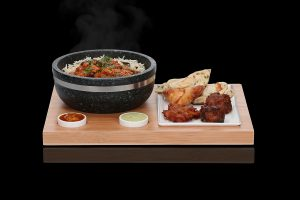 The SteakStones Super Bowl Set with Curry & Indian Sides