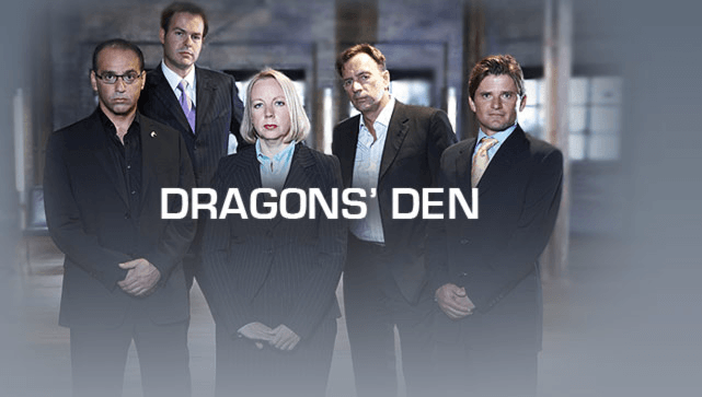 SteakStones Launch on Dragons den
